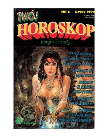 Twój Horoskop Magia i czary nr 3 rok 1992 Temark