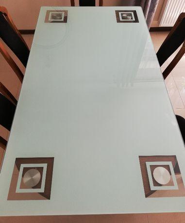 szklany blat do stołu