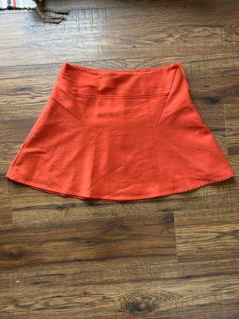 Zara spódniczka - czerwona r S