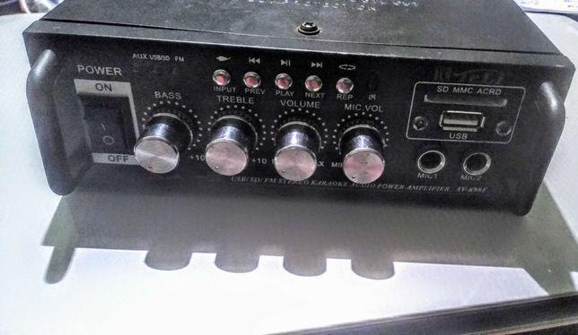 Аудио усилитель, підсилювач звуку