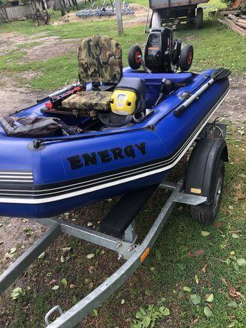 Лодка Energe ,трейлер лодочный BOAT ,эхолот,лодочный мотор Parsun 9.8