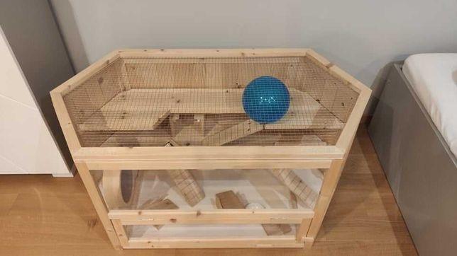 Klatka dla chomika drewniana 115x60x58cm
