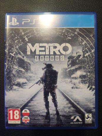 Metro Exodus PS4 stan doskonały