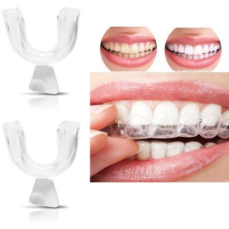 Капы для отбеливания зубов. Для детей и взрослых. Универсальный размер