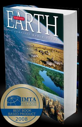 Atlas Świata Earth Concise - Charles Gritzner