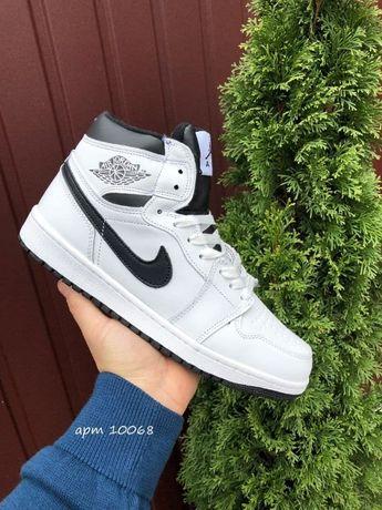 Кроссовки Зимние Nike Air Jordan 1 Retro /Зима, мех, 4 цвета /