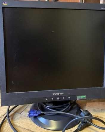 Монитор 17 дюймів ViewSonic wa703b З усіма кабелями