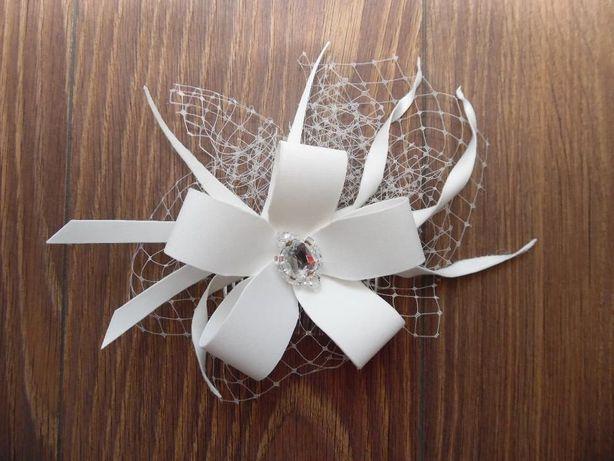 Ozdoba - stroik do włosów na ślub