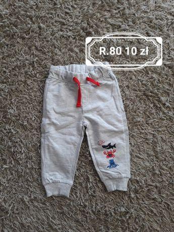 Spodnie dresowe rozmiar 80