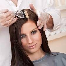 Покраска волос(корней)у вас на дому Киев