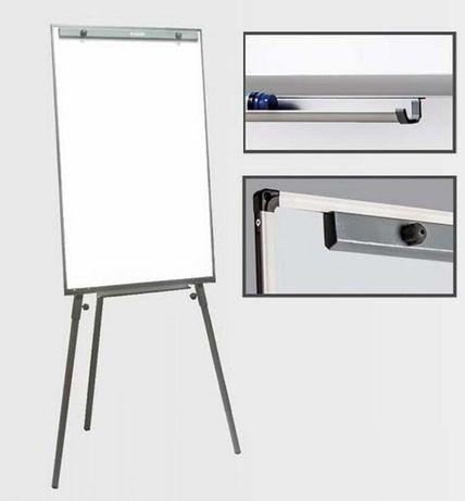 Магнитная доска для рисования маркером на треноге 65х100 см
