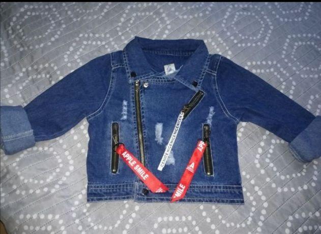 Ramoneska jeans r122 /134