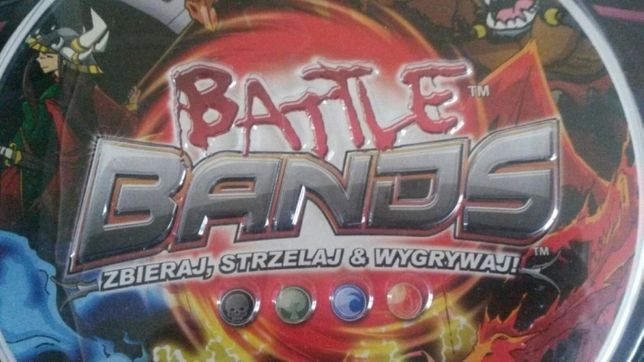 NOWA super gra zręcznościowa TREFL Battle Bands. Pole walki