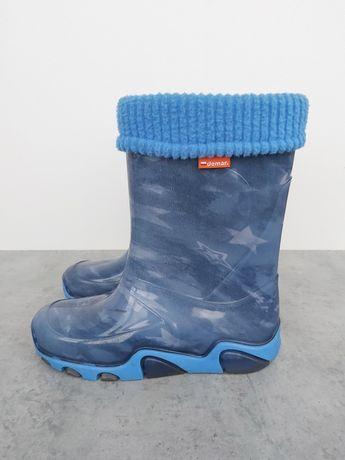 Резиновые сапоги Demar на дождливую погоду р 34 - 35