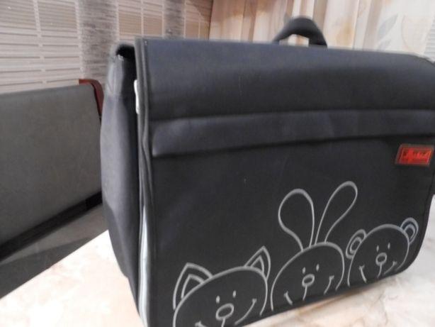 сумка-портфель,органайзер, Германия тканевая 30 х 40 см