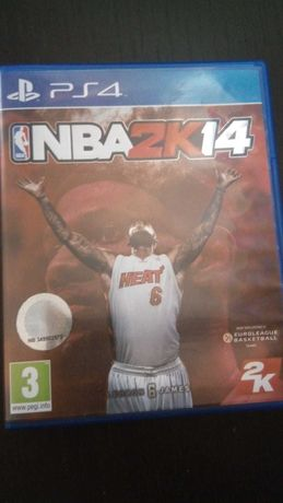 Jogo Ps4 NBA2k14
