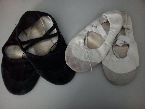 Балетки для танцев, гимнастики, чешки 36
