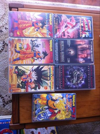 vendo 7 vhs originais