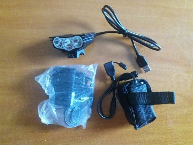 Kit de Luzes para BTT / Ciclismo - SOLAR STORM (Triplo LED)