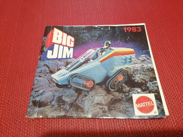 Catálogo da Mattel 1983