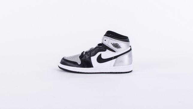 "Air Jordan 1 Retro High ""Silver Toe"" ( PS ) Rozmiar 1.5 Y US - 33"