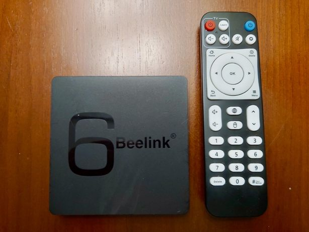 Beelink 6 GS1 TV Box, Android, stary TV, Netflix, Youtube