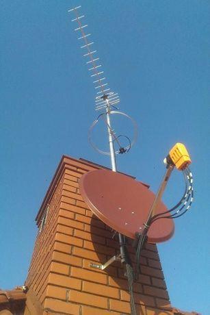 Montaż Anten Gorlice DVB-T TV SAT TRWAM Biecz Grybów Muszyna Bobowa