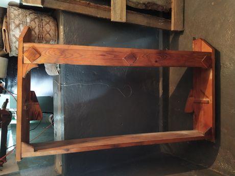 Szafka wisząca drewniana