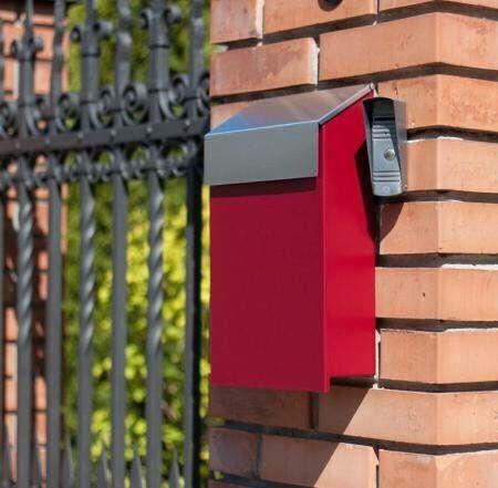 Почтовый ящики для частного дома, металлический почтовый ящик