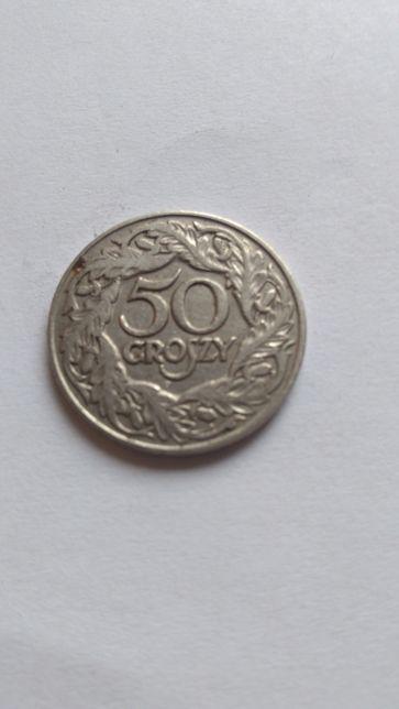 Moneta 50 groszy 1923 rok