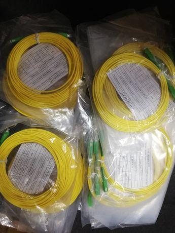 ITED - Cordão de fibra óptica SC/APC com 10 metros