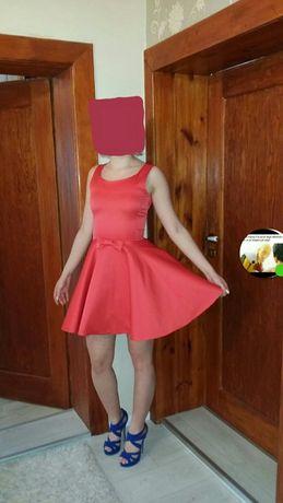 Czerwona sukienka Lou XS