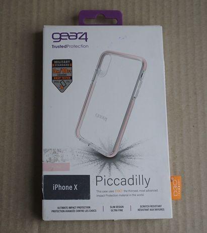 Чехол iPhone X/XS iPhone D3O GEAR4 противоударный Piccadilly