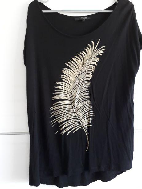 czarna luźna koszulka L, Reserved