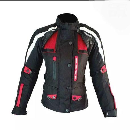 Blusão senhora 3 camadas casaco mota scooter novo