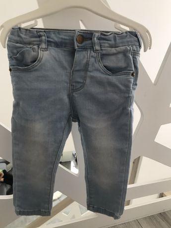 Spodnie ZARA r.74