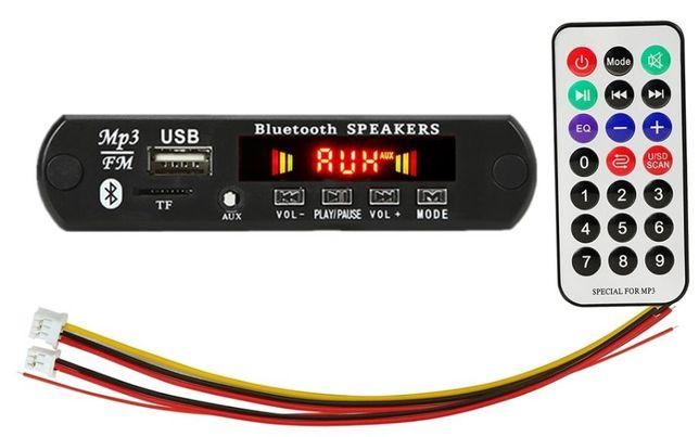 FM приемник, Bluetooth 5,0, панель, декодер мр3, aux, usb, tf- карта