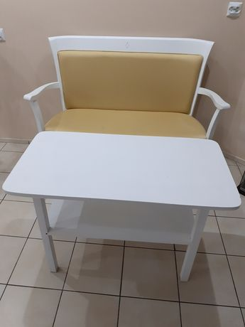 Ławka ławeczka siedlisko stolik komplet