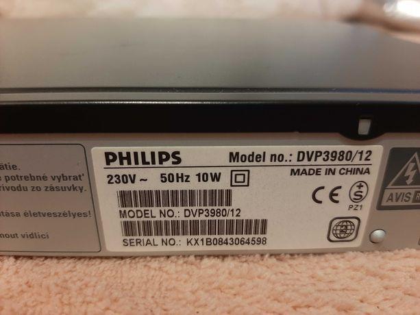 Odtwarzacz DVD Philips DVP 3980/12