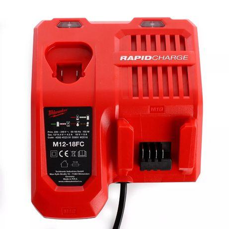 Promocja Milwaukee M12-18FC Ładowarka Rapid Szybka M12 M14 M18 240v