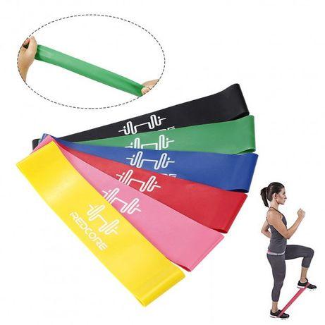 Набор резинок для фитнеса 6 штук/ фитнес резинка/ резина сопротивления