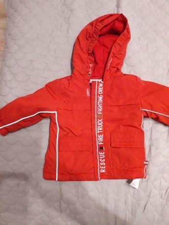 Paka ubrań dla chłopca 62 68 74 kocyk śpiochý body spodnie kurtka
