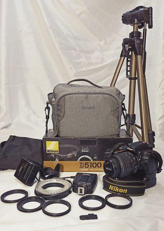 Nikon d5100 комплект