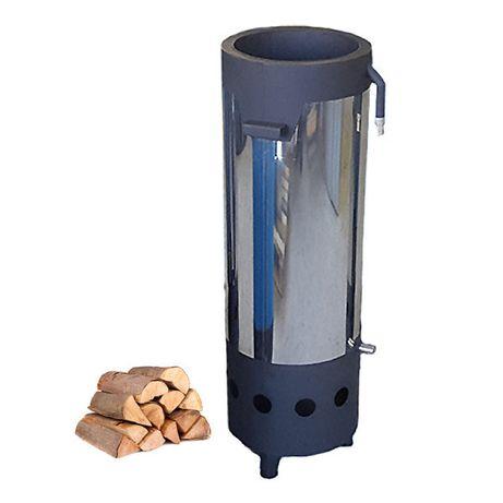 Дровяной водонагреватель (котел, бойлер) для бассейна 40 кВт HOTPOOL
