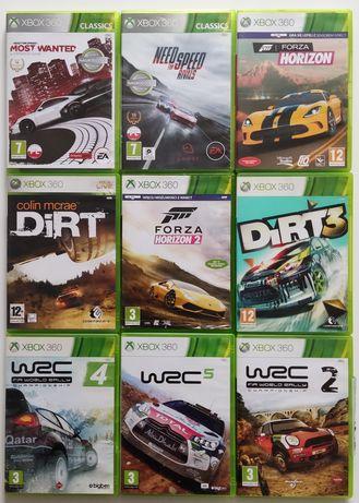 Gry Xbox 360 Forza horizon NFS Dirt WRC
