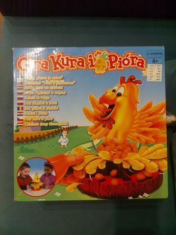 Gra dla dzieci 4+ Kura i pióra, stan idealny