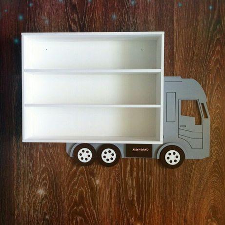 Полка для машинок игрушек Машинка грузовик