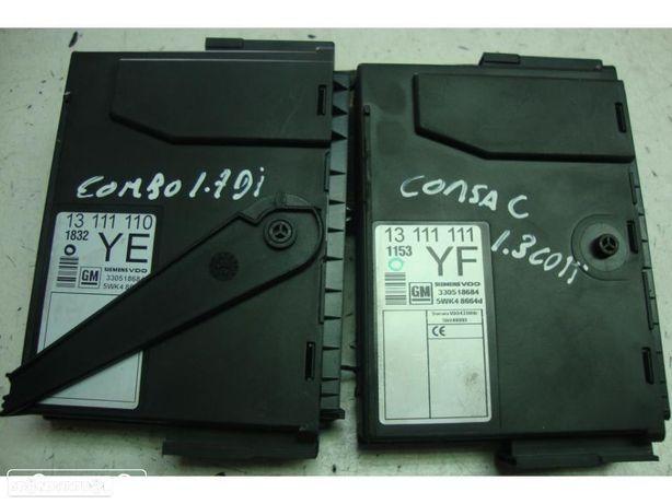 Módulos de sistema Confort Corsa C 1.3 CDTI, Opel Combo 1.7 DI e outros