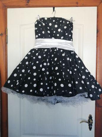 Платье выпускное в ретро стиле стиляги