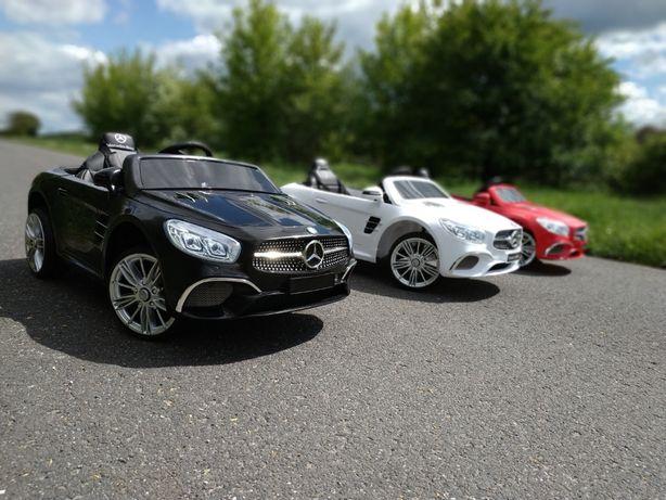 Pojazd na Akumulator Mercedes SL400 # Skóra # Pilot # Wyświetlacz MP4